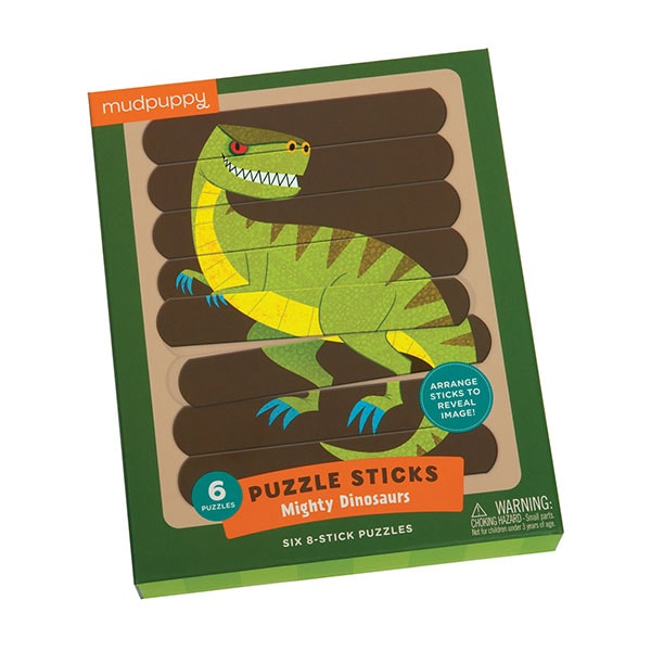 Mudpuppy Puzzel Sticks Dinosaurus