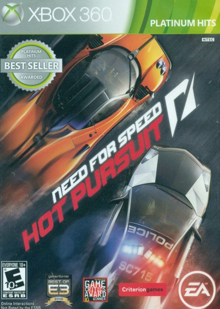 Need for Speed Hot Pursuit (Platinum Hits)