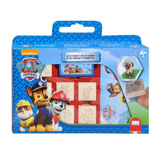 Nickelodeon Stempelset Luxe PAW Patrol: 12 Delig