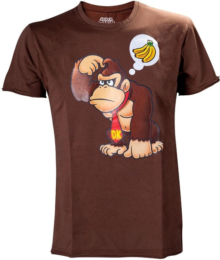 Nintendo - Donkey Kong. Brown T-Shirt