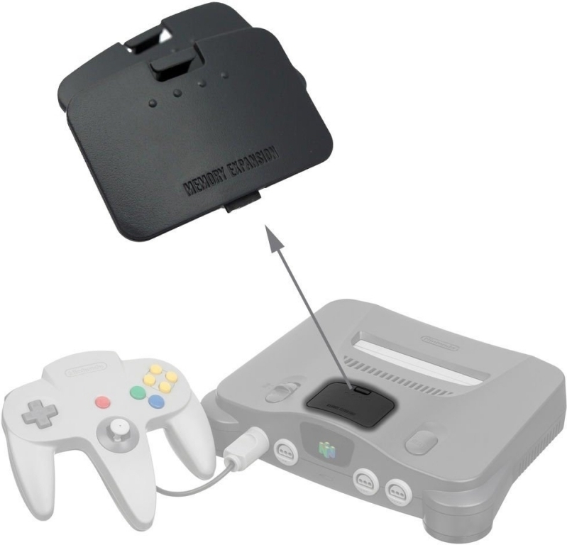 Nintendo 64 Memory Expansion Cover Grey (TTX)