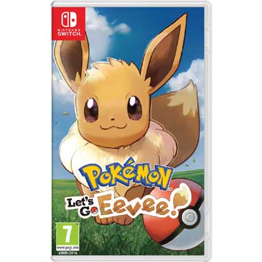 Nintendo Switch Pokémon Let\s Go Eevee
