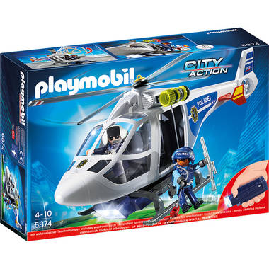 PLAYMOBIL 6874 City Action politie helikopter