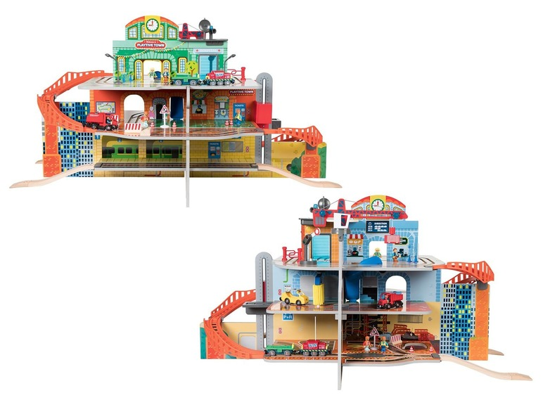 PLAYTIVE JUNIOR Treinstationset XXL Ziekenhuis