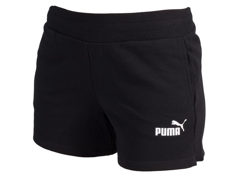 PUMA Dames sweatshort Essential XL, Zwart