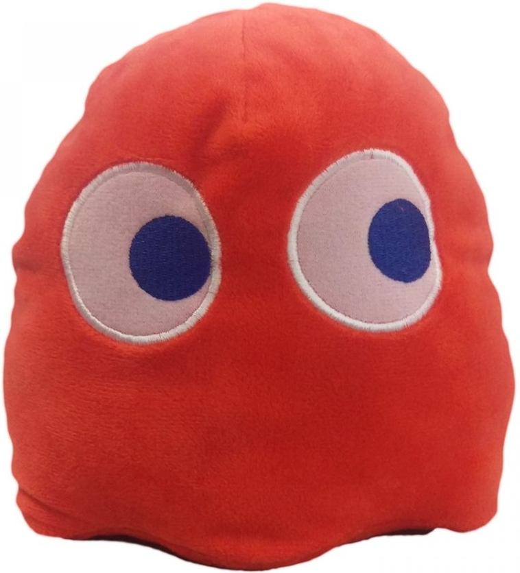 Pac-Man Pluche 17cm - Blinky (Red)