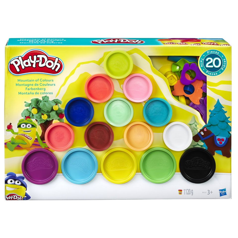 Play-Doh Mountain of Colors klei
