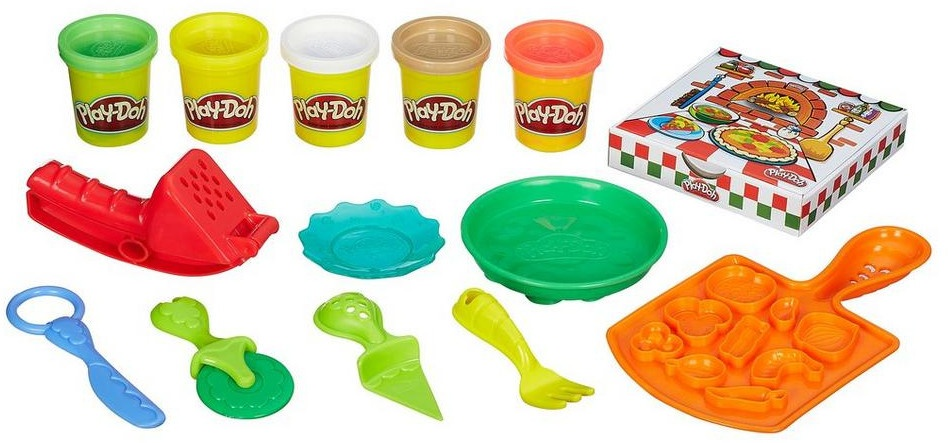 Play Doh kleiset Pizza Party 12 delig