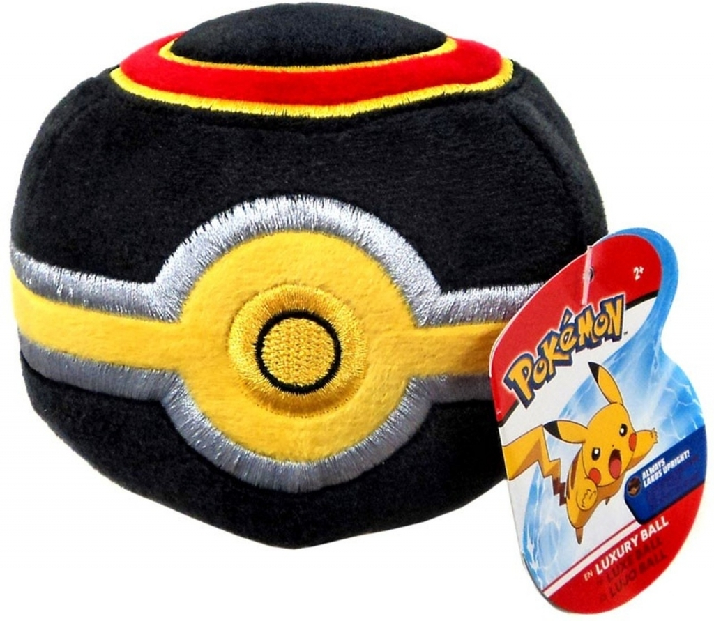 Pokemon Pluche - Luxury Ball (Wicked Cool Toys)