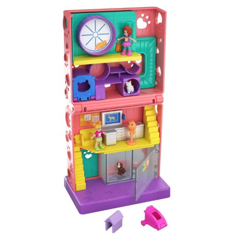 Polly Pocket Pollyville Dierencentrum