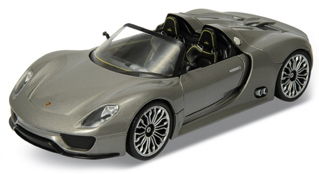 Porsche 918 Spyder Welly 1:24