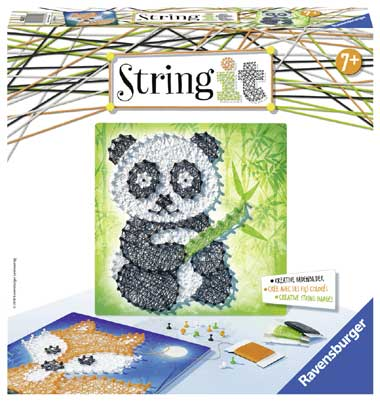 Ravensburger String it panda en vos