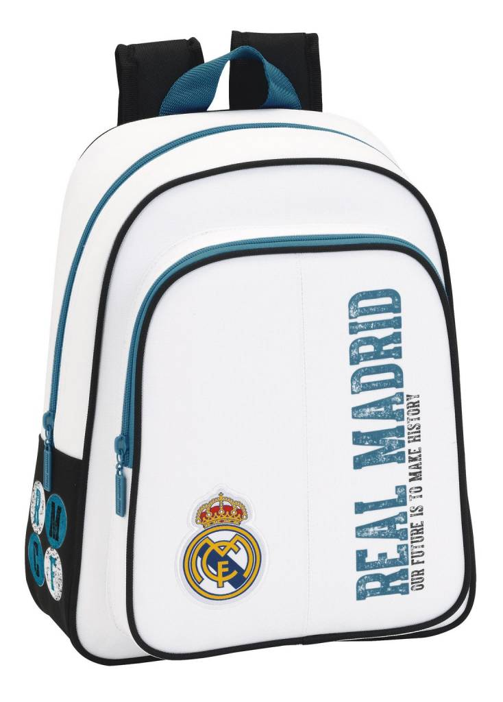 Real Madrid Rugzak History - 34 x 27 x 10 cm - Polyester