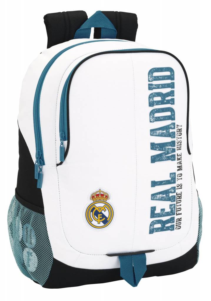 Real Madrid Rugzak History - 44 x 32 x 16 cm - Polyester