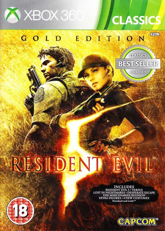 Resident Evil 5 Gold Edition (classics)