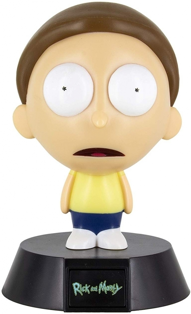 Rick and Morty - Morty Icon Light