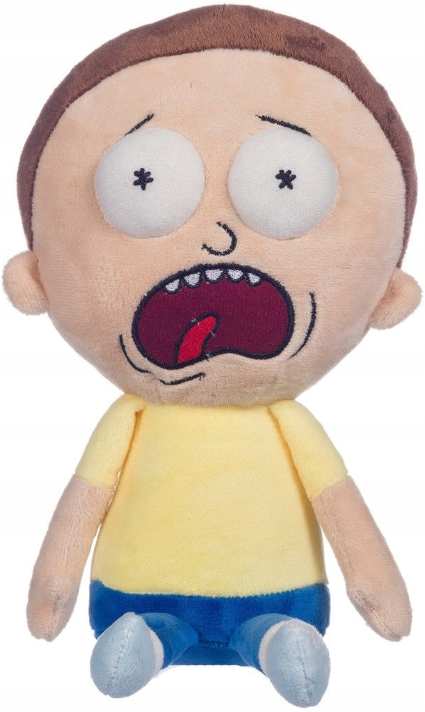 Rick and Morty Pluche - Scared Morty