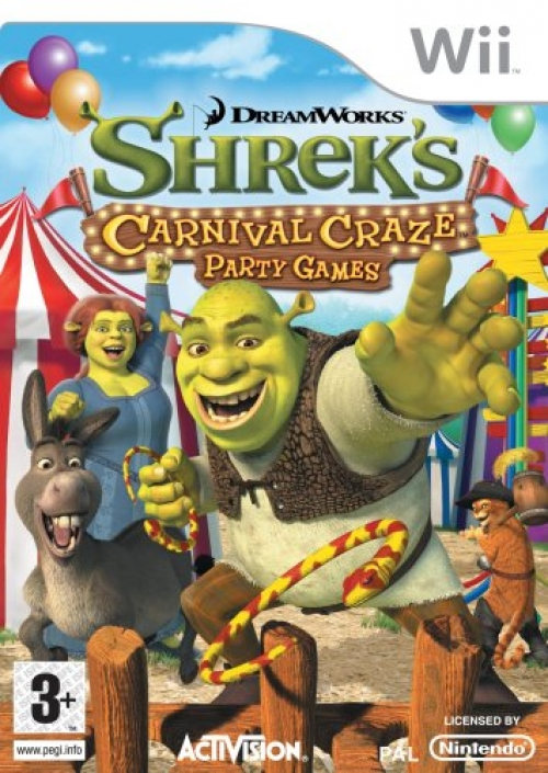 Shrek Crazy Kermis Party Games