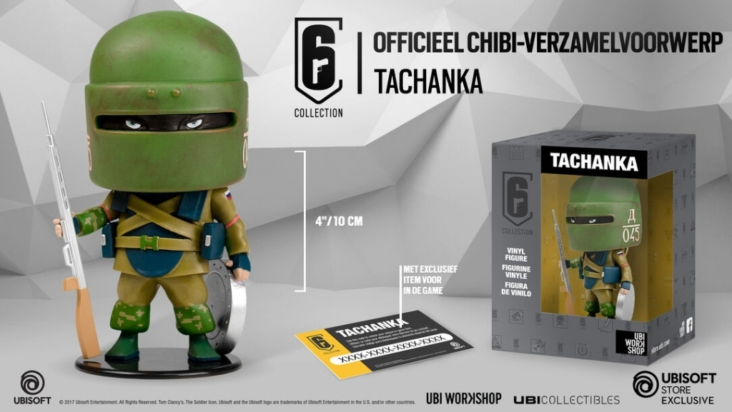 Six Collection Chibi Vinyl Figure - Tachanka