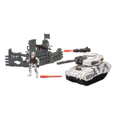 Soldier Force 9 Rapid Fire tank set