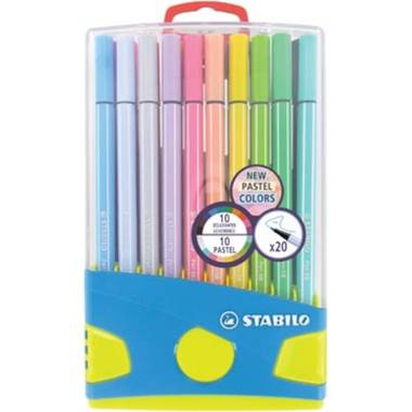 Stabilo fineliner point 88 Colorparade, blauwe doos