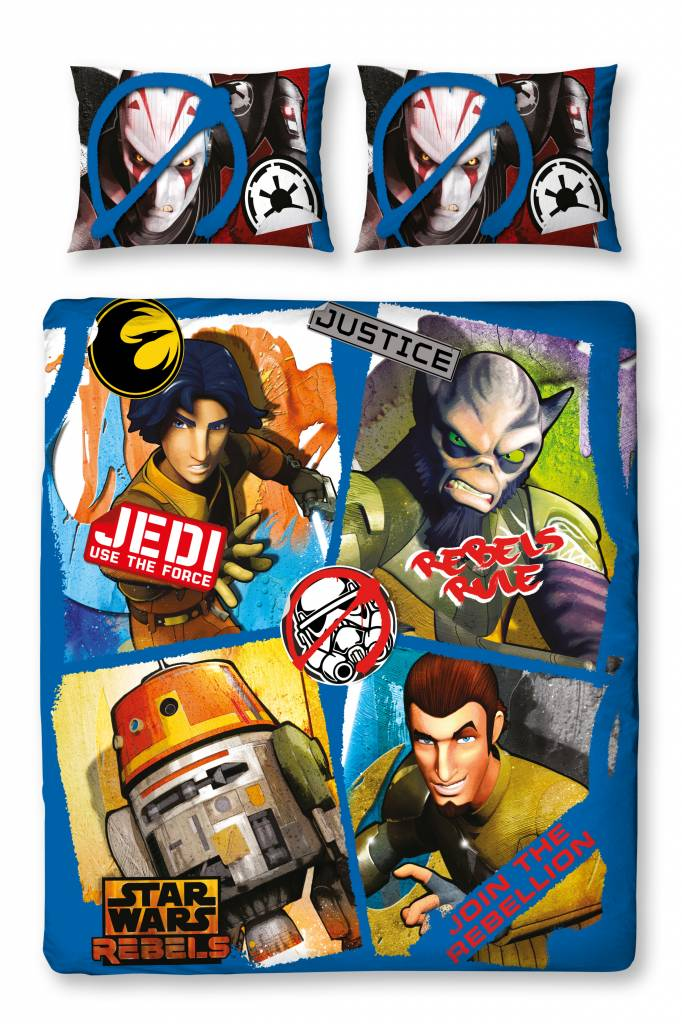 Star Wars   2-persoons Tag 200x200cm Polycotton