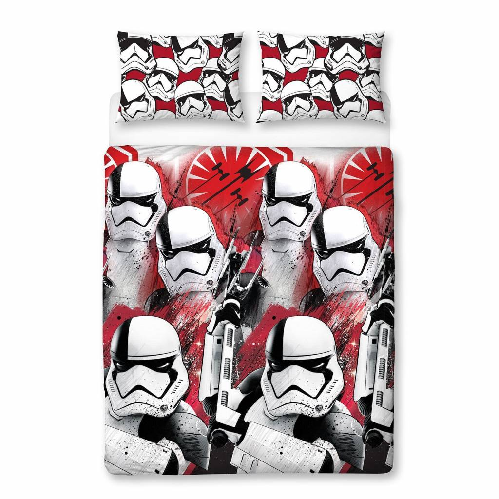 Star Wars   Trooper tweepersoons 200 x 200 cm - 48 x 74 cm - Polyester