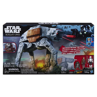 Star Wars Rapid Fire Imperial AT-ACT figuur - 10 cm