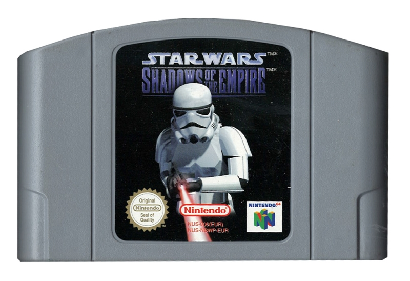 Star Wars Shadows of the Empire (losse cassette)