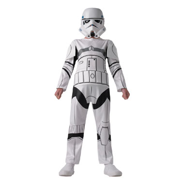 Star Wars Stormtrooper - maat 116/128