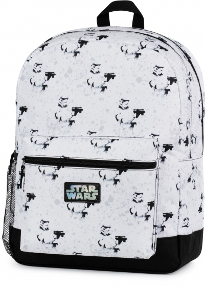 Stationery Team rugzak Star Wars 26 liter wit/zwart