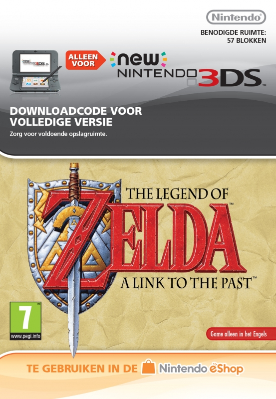 The Legend of Zelda: A Link to the Past Virtual Console