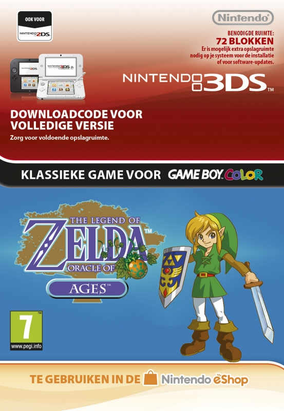 The Legend of Zelda: Oracle of Ages Virtual Console