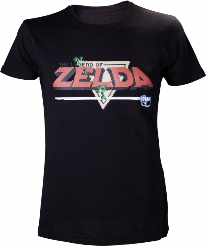 The Legend of Zelda T-Shirt Black