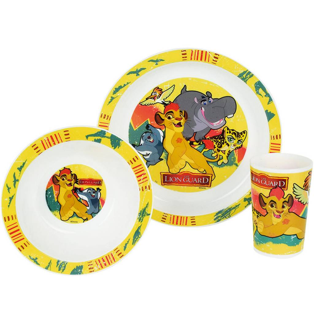 The Lion Guard Lunch set - 3 delig