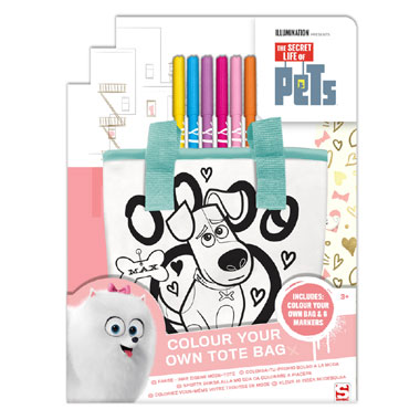 The Secret Life of Pets kleur je eigen tas