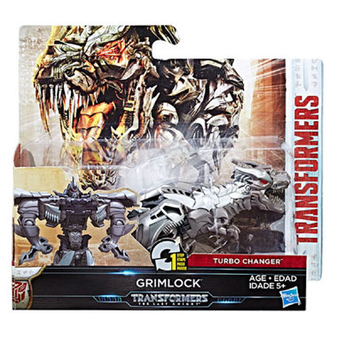 Transformers The Last Knight Step Turbo Changer Grimlock
