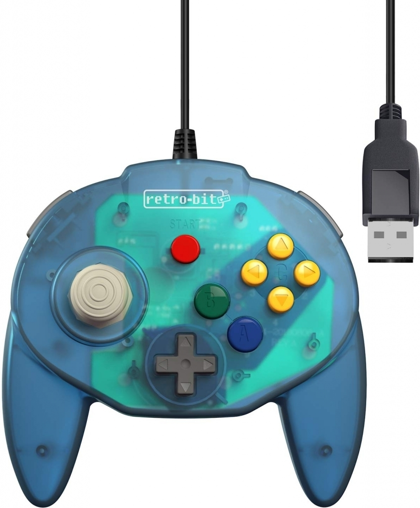 Tribute 64 USB Controller (Blue) (Retro-bit)
