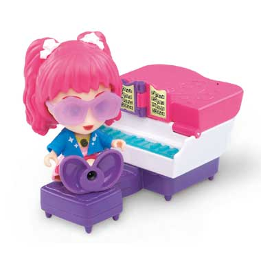 VTech Flipsies Jazz piano en kaptafel