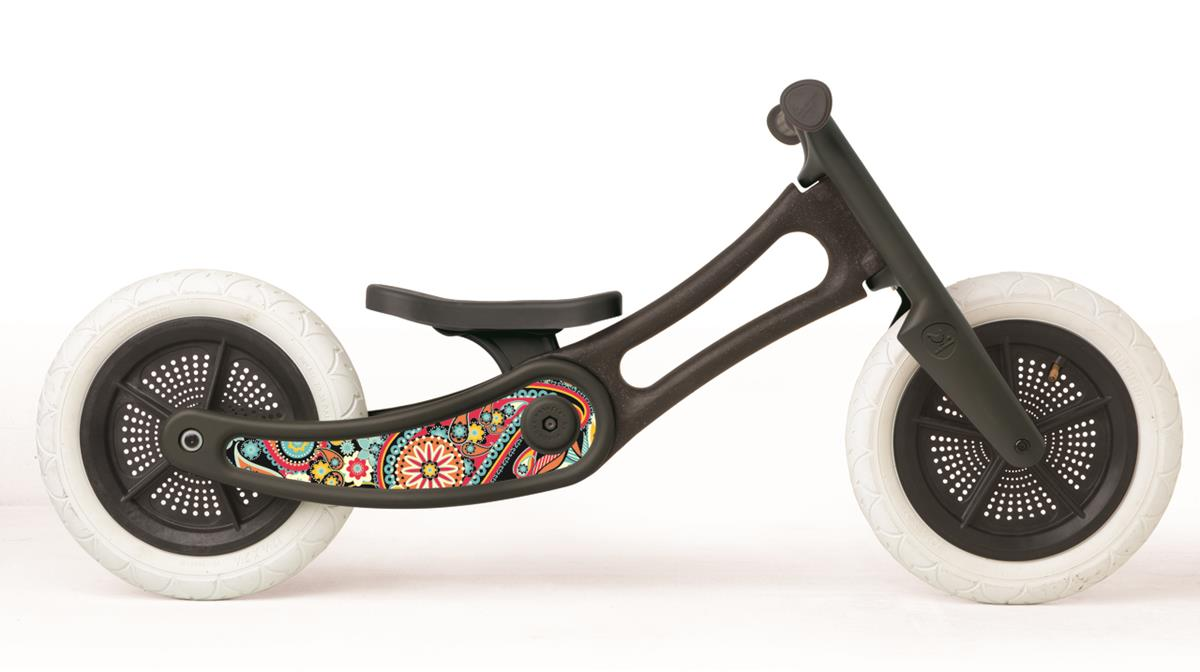 Wishbonebike Loopfiets 2 in 1 Recycled Paisley