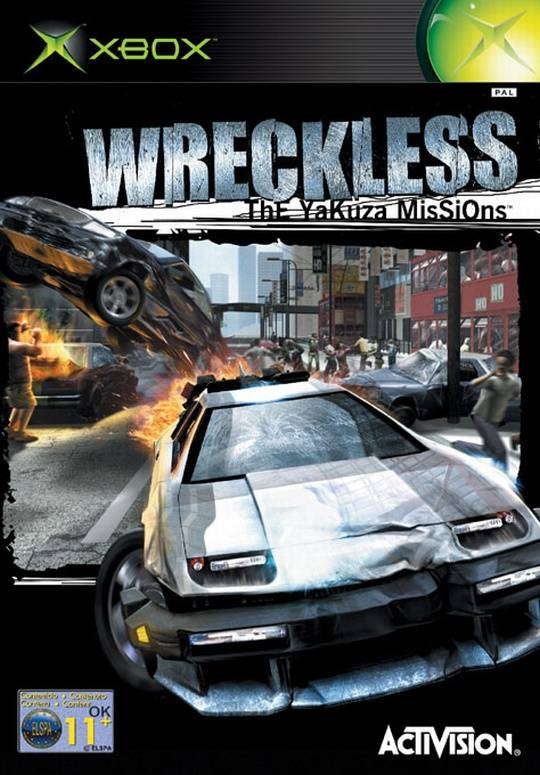 Wreckless the Yakuza Missions (zonder handleiding)