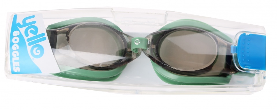 Yello zwembril Sports Goggles groen