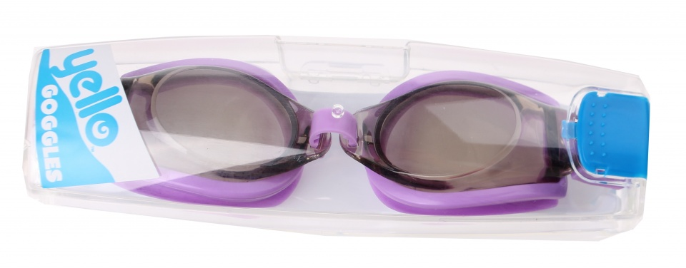 Yello zwembril Sports Goggles paars