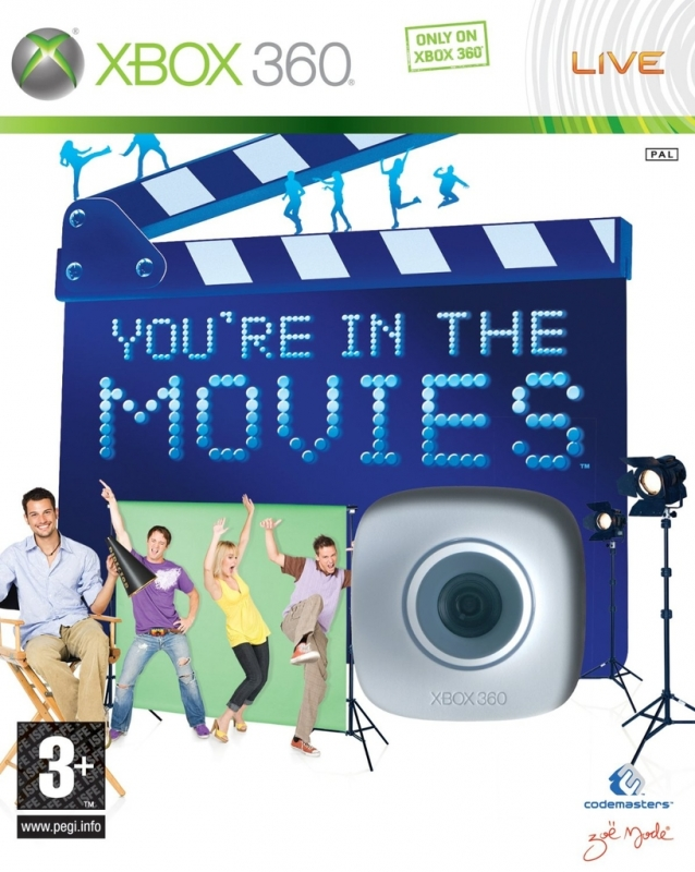 You\re In The Movies + Live Vision Camera