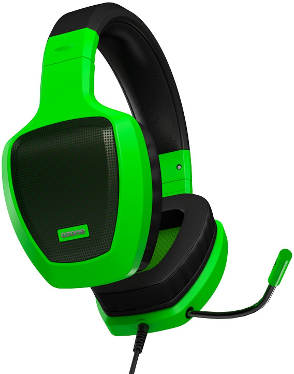 Ozone Rage Z50 Glow Green Gaming Headset