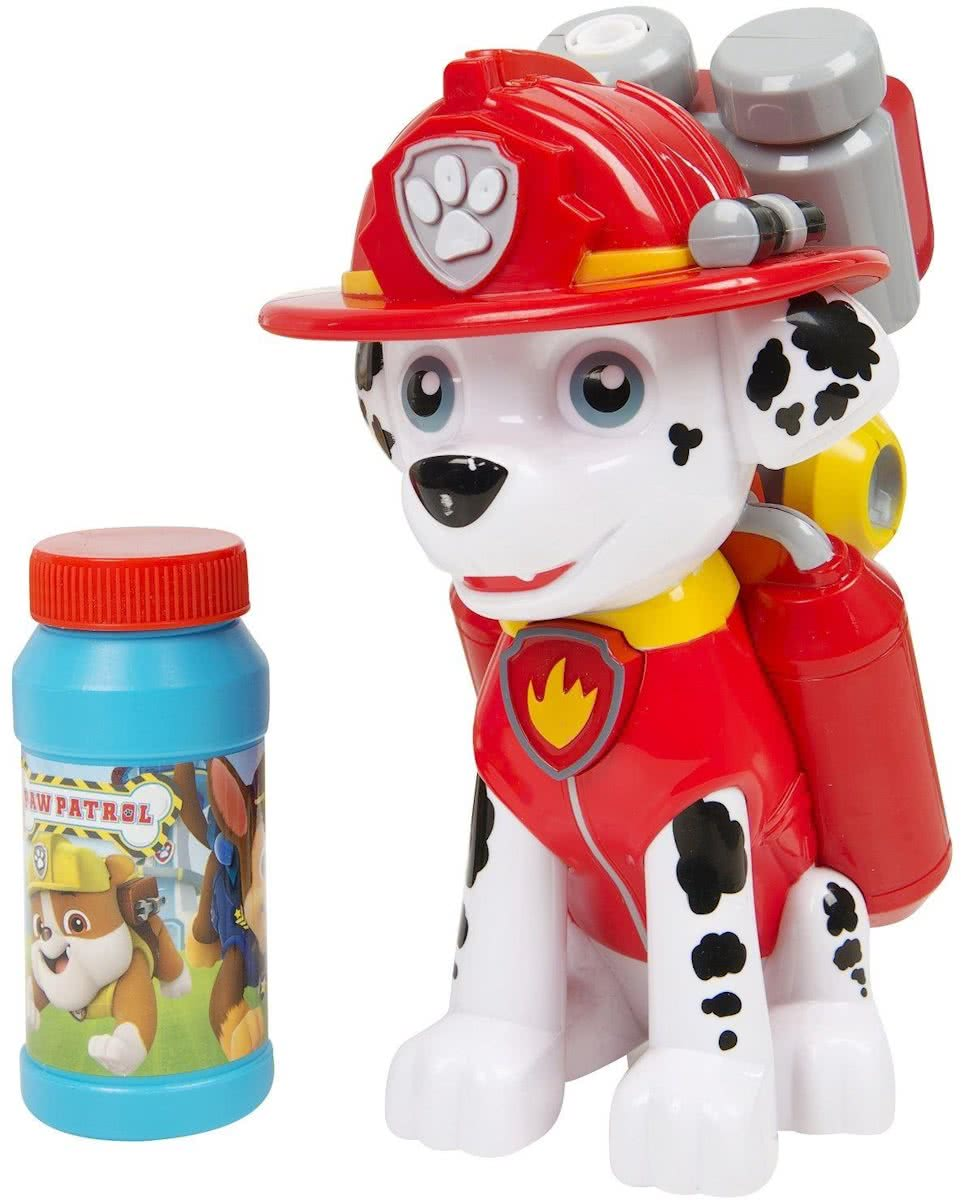Paw Patrol Marshall Character Bubble Machine