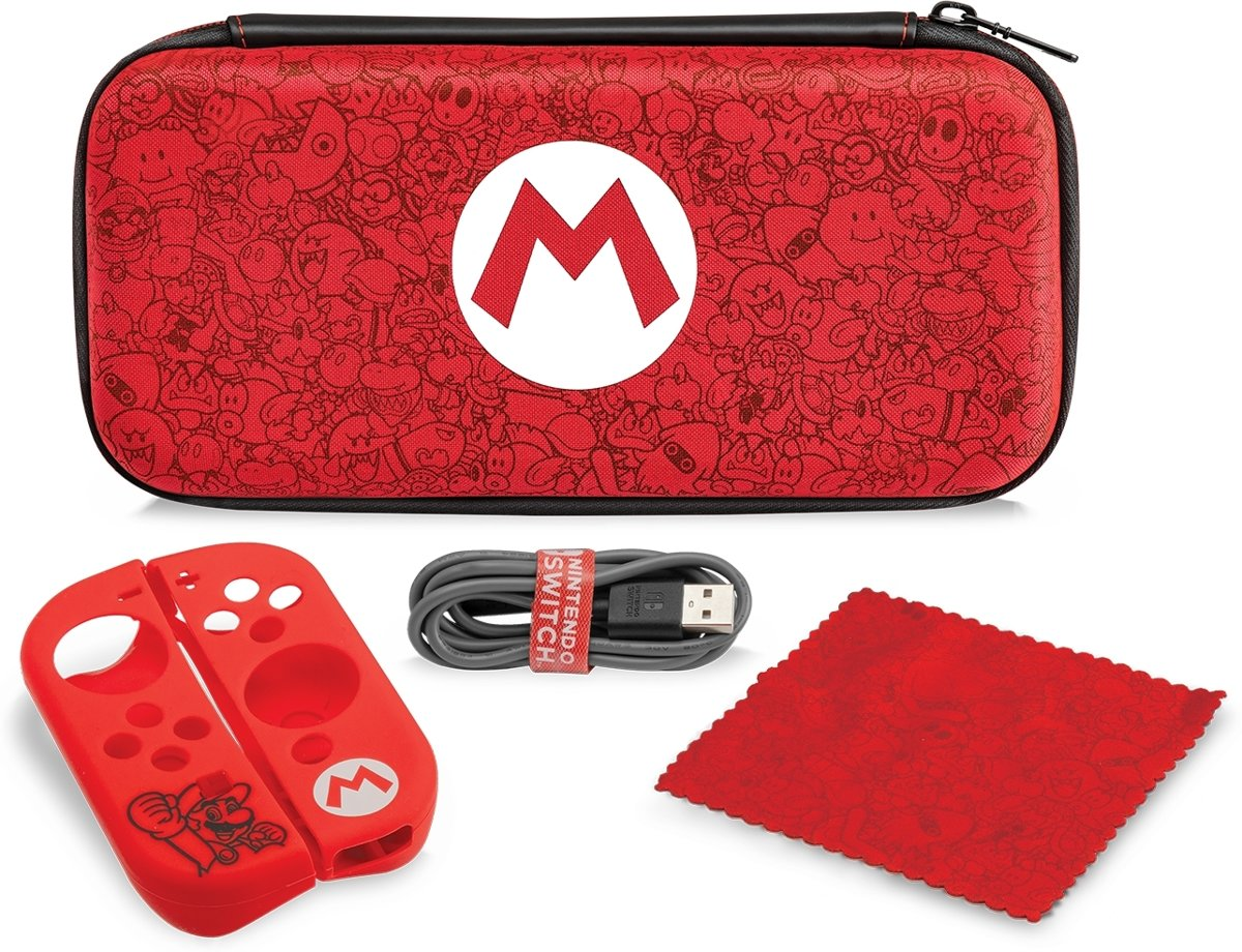 Nintendo Switch   -   Starter Kit Mario Remix Editie