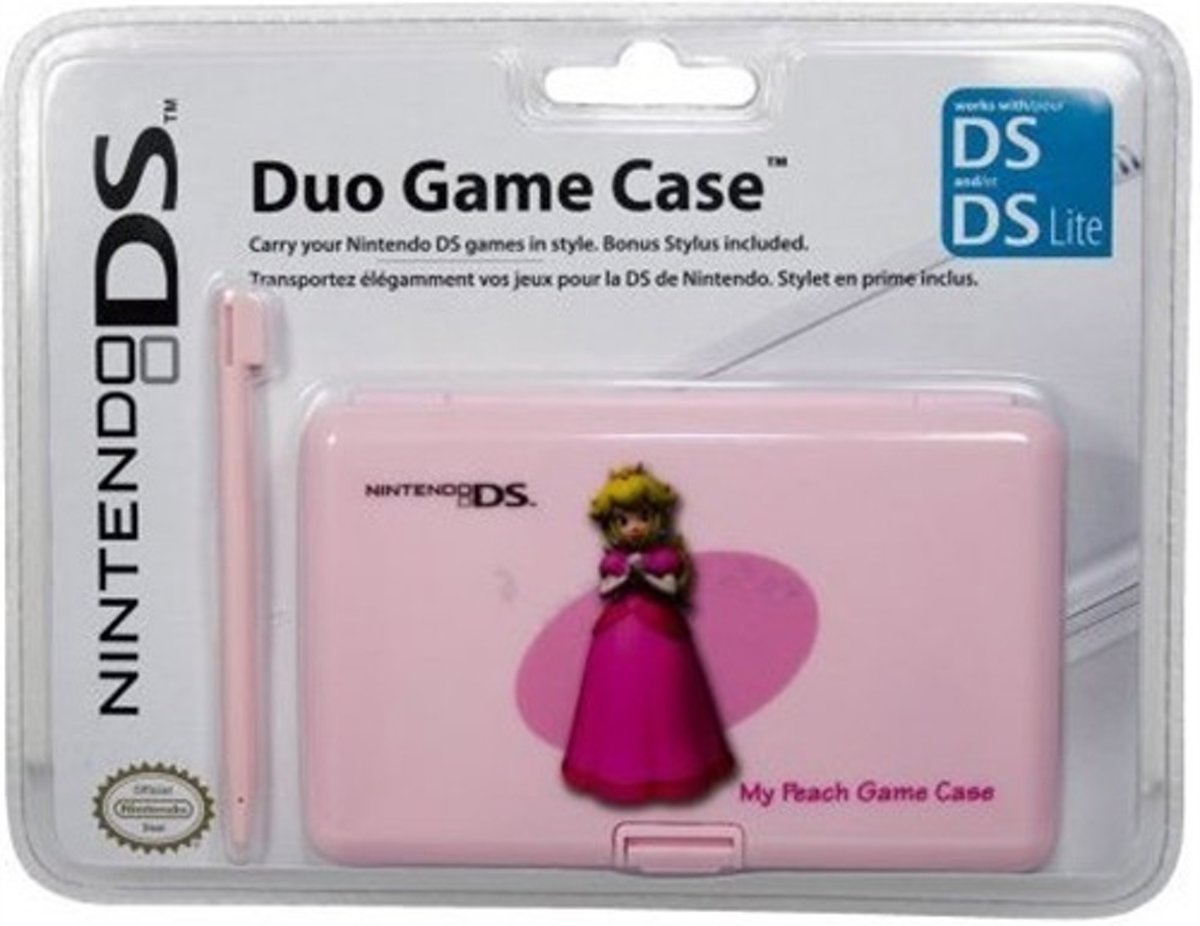 Pelican Case Per Giochi Ds Uff. Princess Peach