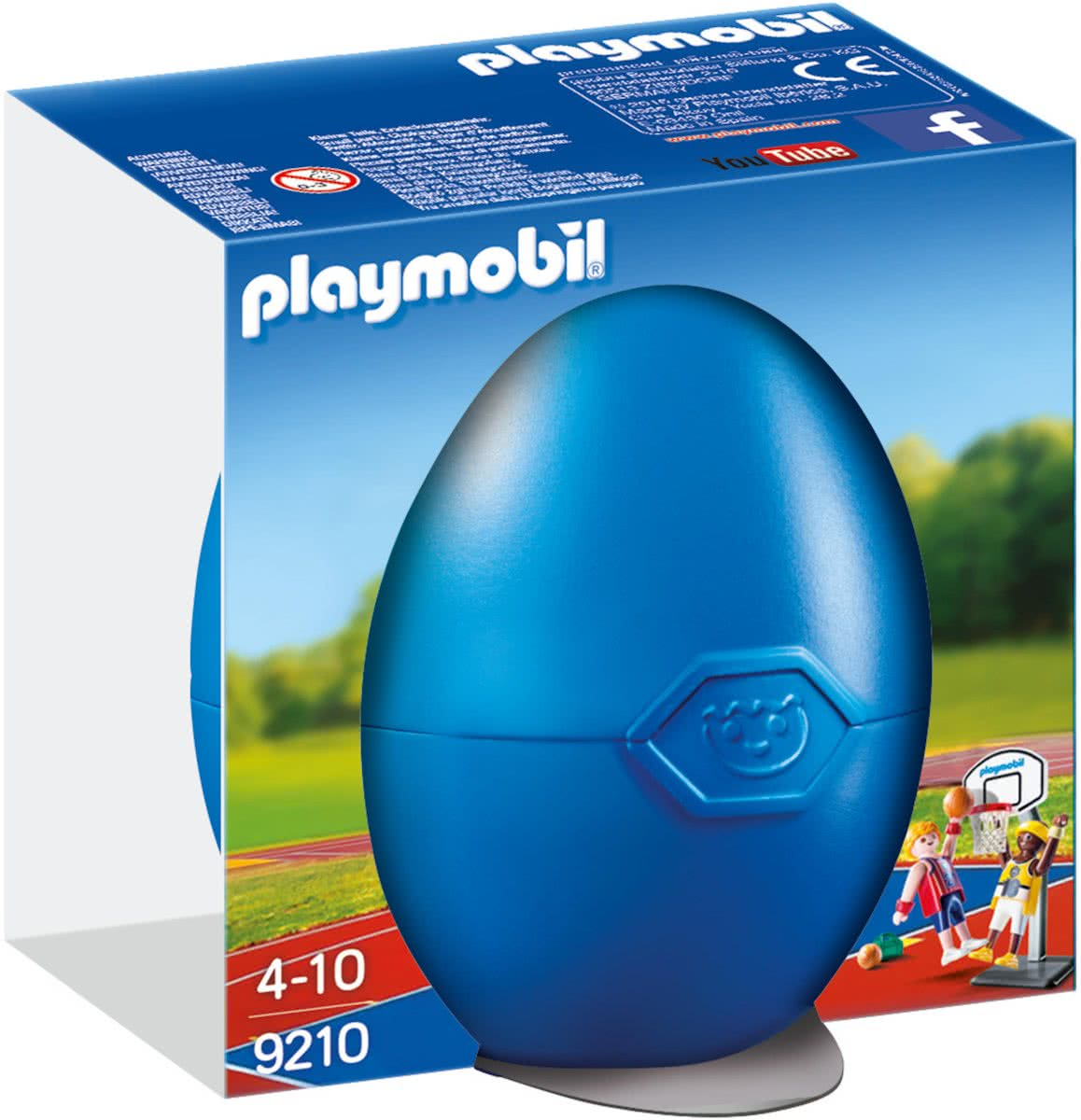 PLAYMOBIL Basketballers met ring  - 9210