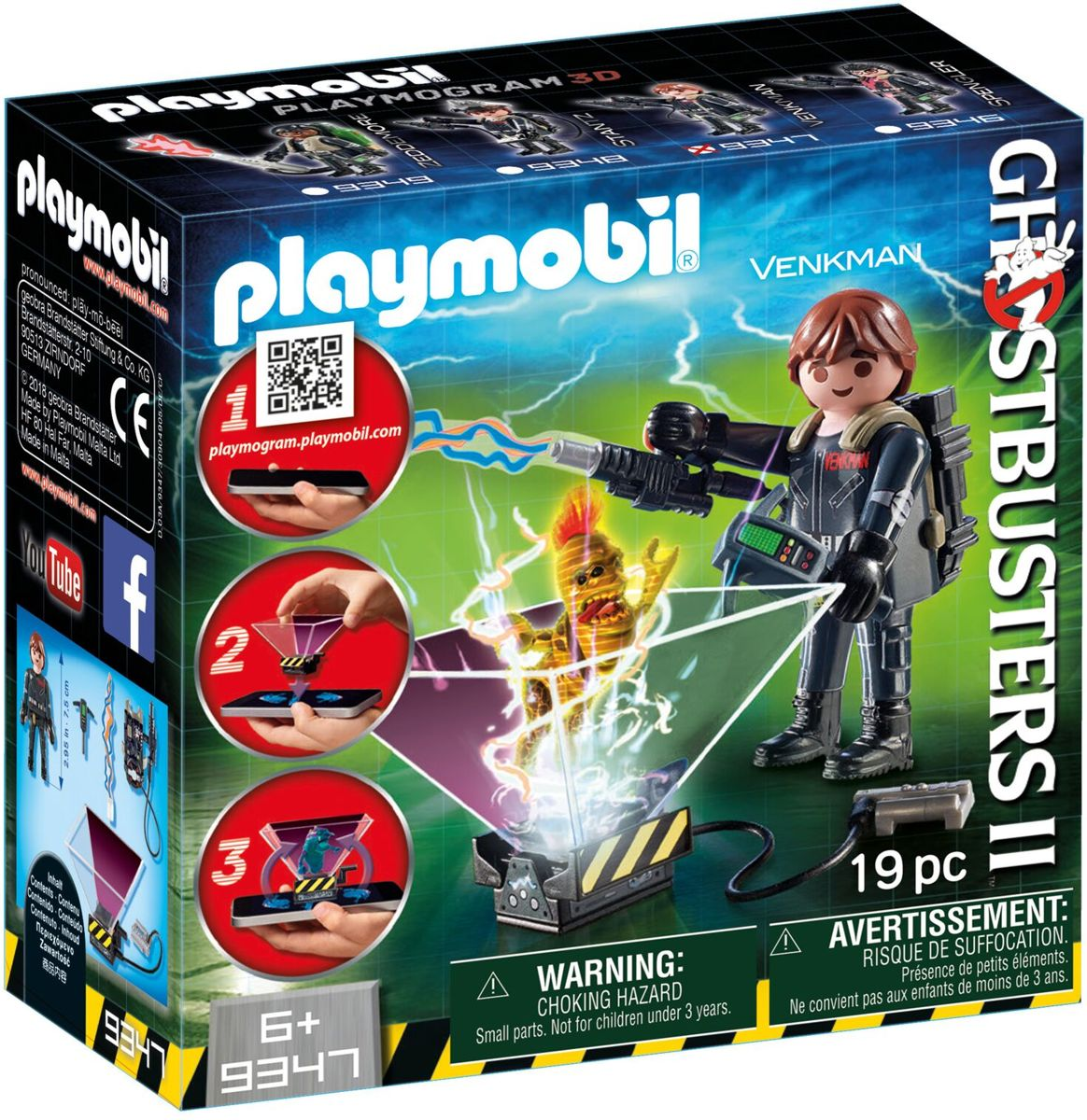 PLAYMOBIL Ghostbuster Peter Venkman - 9347
